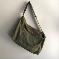 #1259 1940〜1950's duffle shoulder bag