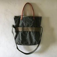 #305 1960's USMC cargo pack custom 2 way shoulder bag