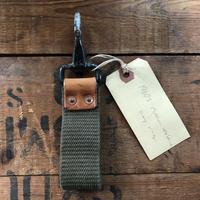 Vintage webbing Key ring