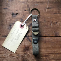 1960's cotton webbing keyring