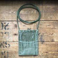 1940〜50's canvas neck pouch#3