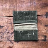 vintage fabric card case 2 pockets
