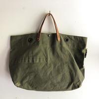 #1345 1950's duffle messenger bag