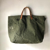 #872 1960's duffle messenger bag