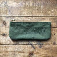 Vintage canvas pouch (070)