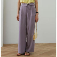 2color : 2Way Turn Down Waist Trousers  175 送料無料
