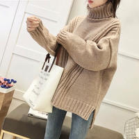 5color:V line Volume Turtleneck Knit 送料無料