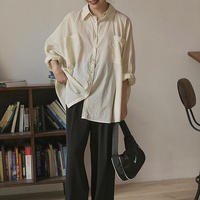 Over Loose Shirts        190        送料無料
