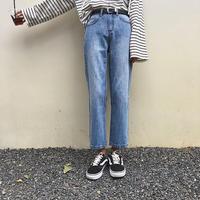 2color:Straight Ankle Denim 169 送料無料