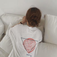 3color: Earth Over T-shirts 90199   送料無料