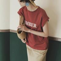 French sleeve  AMBER T    送料無料