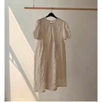 Puff Sleeve Wrinkle Dress 90304 送料無料