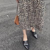 Leopard Long Skirt 送料無料