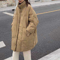 2color : Standcollar Eco Down Jacket 90268 送料無料