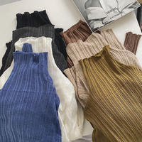 7color : Wool & Cashmere Blend Random Rib Knit 90235 送料無料