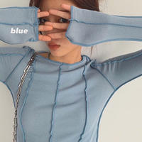 Inside Out Rib Tops  90220 送料無料