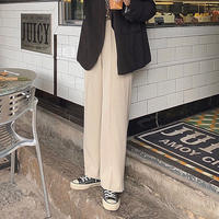 2color : Center Tack Straight Pants  178 送料無料