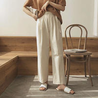 3color : Belt Doubletuck Pants  186 送料無料