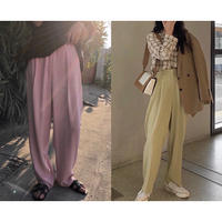 【即納】4color: Color Tack Trousers  90163  送料無料