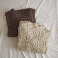 2color: Vintage like Aran Knit  送料無料 143
