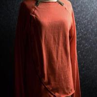 "WILDFRÄULEIN71 × shomakishima ""film cut and sewn"" c/# blood orange"