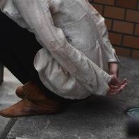 "WILDFRÄULEIN71 ""antique silk fabric tailoed jacket"""