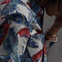 "Hanke's ""wing flowerworks aloha shirt"""