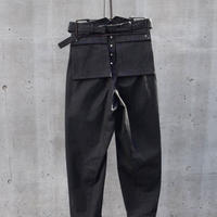"WILDFRÄULEIN71 ""Double face work trouser"""