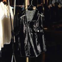 """WILDFRÄULEIN71 2021s/s """"chopper rustic fur vest"""""""