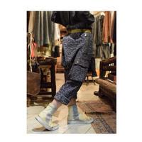 "Roop fret ""antique fabric sarouel pants"""
