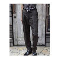 "Jean van Griniche ""silk stripe slacks trouser"""