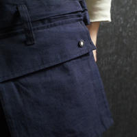 "WILDFRÄULEIN71 ""double face japanese indigo trouser"""