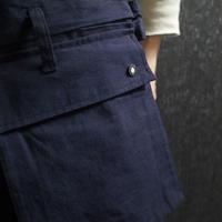 "WILDFRÄULEIN71 ""double face japanese indigo trouser"""