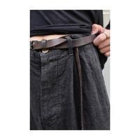 """WILDFRÄULEIN71 2020-21 f/w """"heavy linen 墨染 slacks trouser"""""""