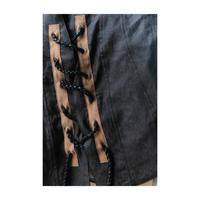 """☆Jobi fret roop × Jean van Griniche """"corset silk vest"""""""