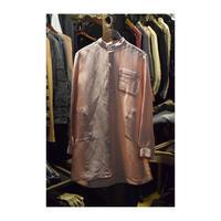"WILDFRÄULEIN71 ""pink zebra silk jacquard shirt"""