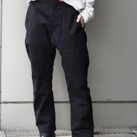 "WILDFRÄULEIN71 2021s/s ""Architecture Japanese cotton pants"""