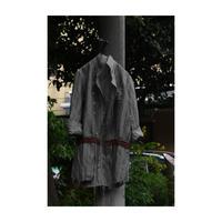 """WILDFRÄULEIN71 2020-21 f/w """"upper classes 錆染め shirt coat"""""""
