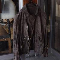 """WILDFRÄULEIN71 """"yohryu cotton riders jacket"""""""