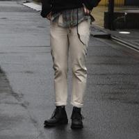 """WILDFRÄULEIN71 2021s/s """"organic cotton skiny sarouel pants"""""""