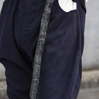 """Hanke's """"chinese indigo jodphurs trousers"""""""