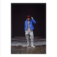 "Roop fret ""blue snow spring riders jacket"""