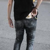 """Subtile 2021 s/s collection look.2 """"denim skiny pants"""""""