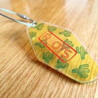 ROOTS Motel Keychain [06-Cactus]