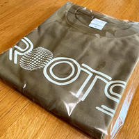 ROOTS T-shirts [Olive × Greige]