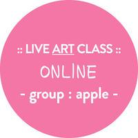 【オンライン】プライベートグループレッスン : Group APPLE