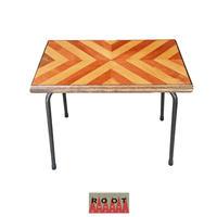 ヘリンボーン サイドテーブル -Herringbone Side Table