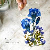 Galaxy /   押し花スマホケース  210616_2