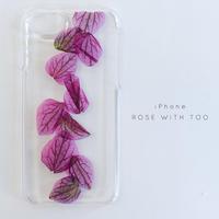 iPhone / 押し花ケース20190626_3