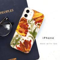 iPhone / 押し花ケース 201202_1